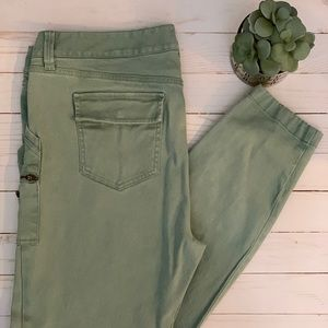 Ann Taylor LOFT Skinny Ankle Zip Cargo Pants